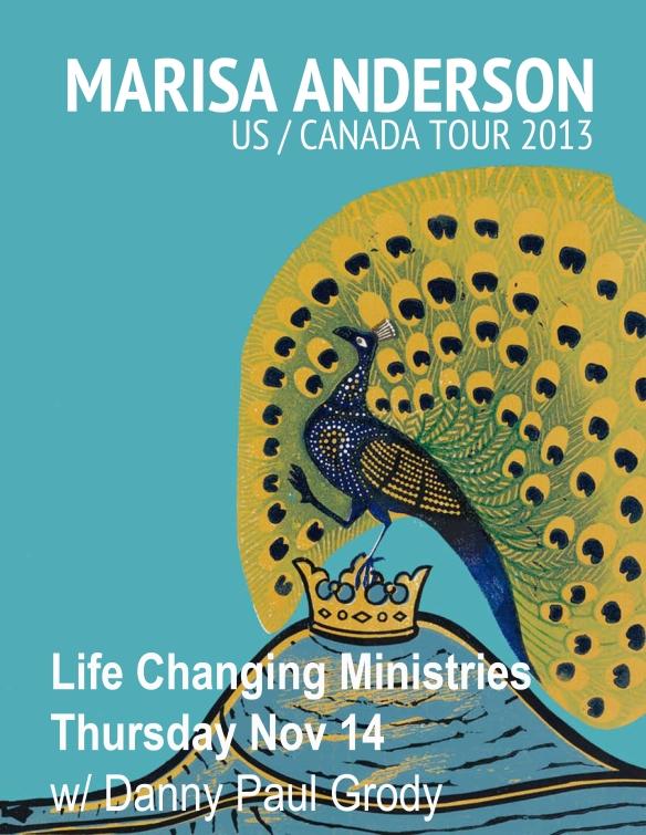 Marisa tour poster 02 oakland